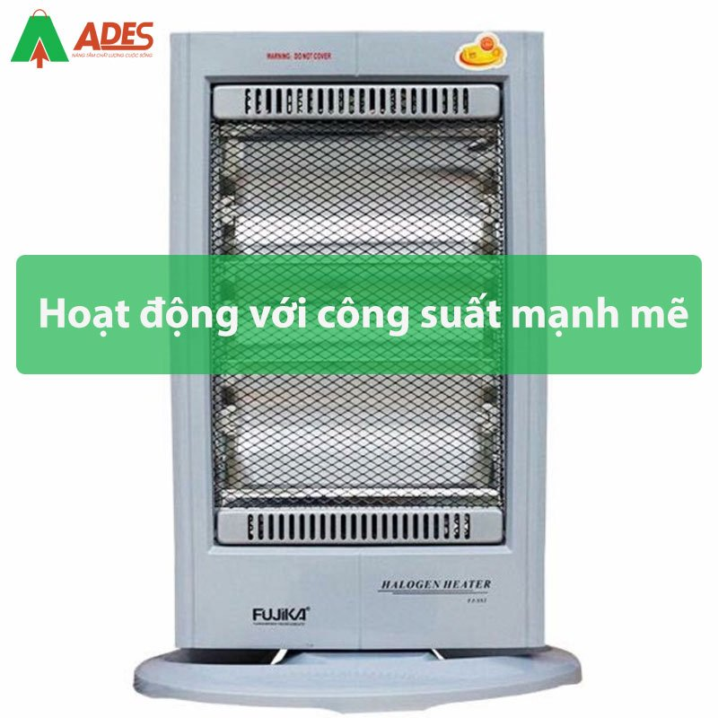 Hoat dong voi cong suat manh me